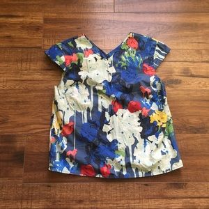 Kate Spade Saturday Perfect Day Jazzy Gems Blouse